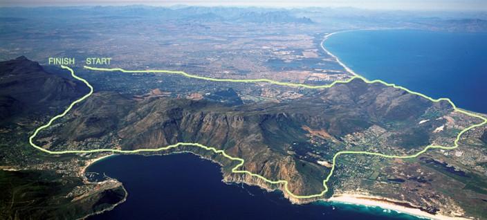 «ДВА ОКЕАНА». Ультрамарафон в 56 км от Индийского до Атлантического