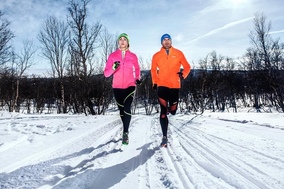 asics running winter