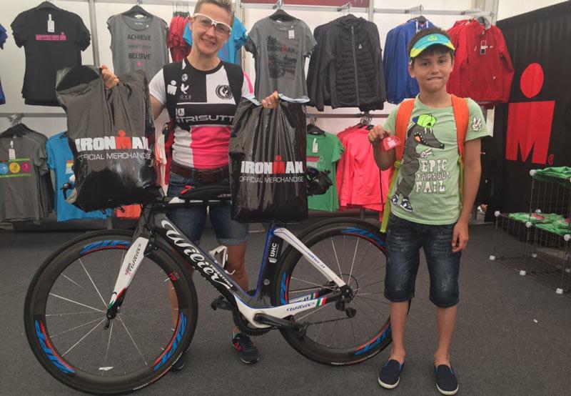 Как преодолеть Ironman и сделать колесо на финише?