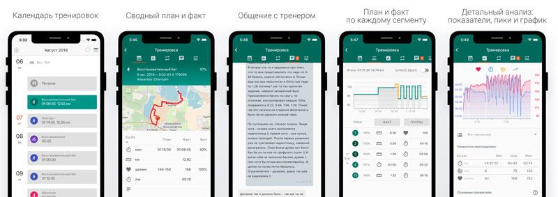 Мобильное приложение Staminity для IOS и Android