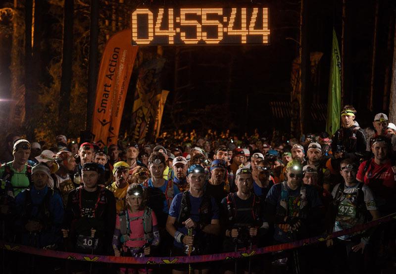Антон Головин — победитель ультрамарафона «Crimea X Run-2018»