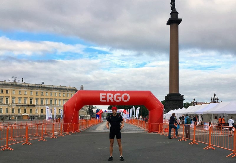 От Москвы до Питера бегом, или как пробежать 700 км за 9 дней!