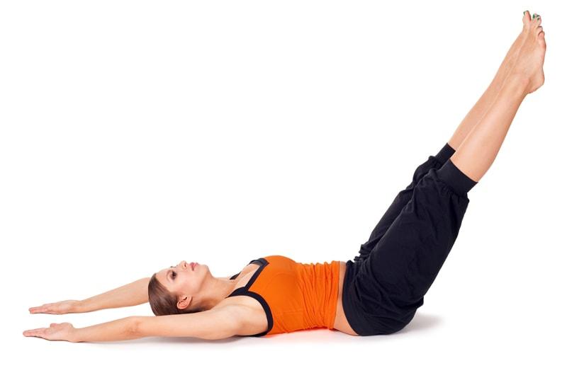 Йога для бегунов: 3 упражнения для пресса