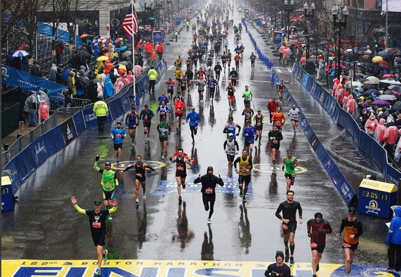 Результаты Бостонского марафона 201