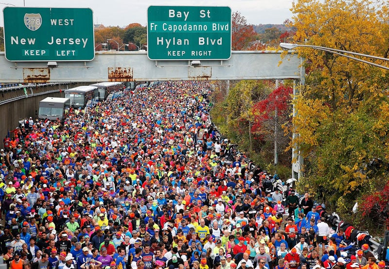 обзор марафонов престижной серии World Marathon Majors