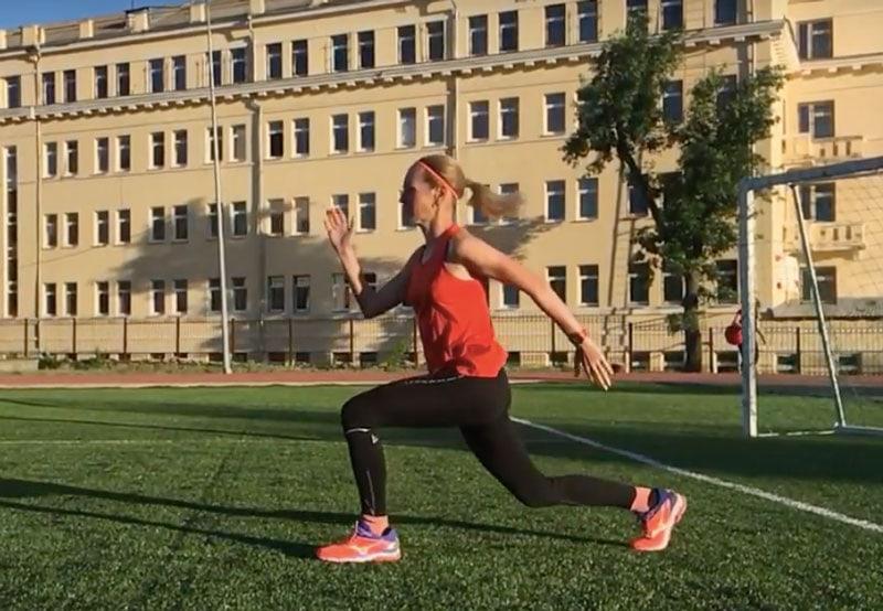10 силовых упражнений для бегунов