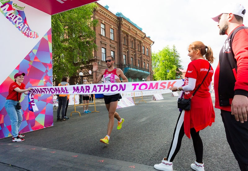 Ярче! Результаты первого Томского международного марафона 2018