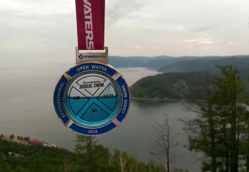 На Байкале в ледяной воде состоялся заплыв Baikal Swim 2018