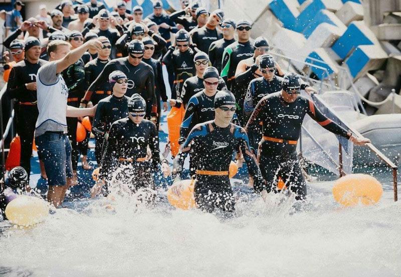 Oceanman в Москве: в столице впервые прошел заплыв всемирно известной серии