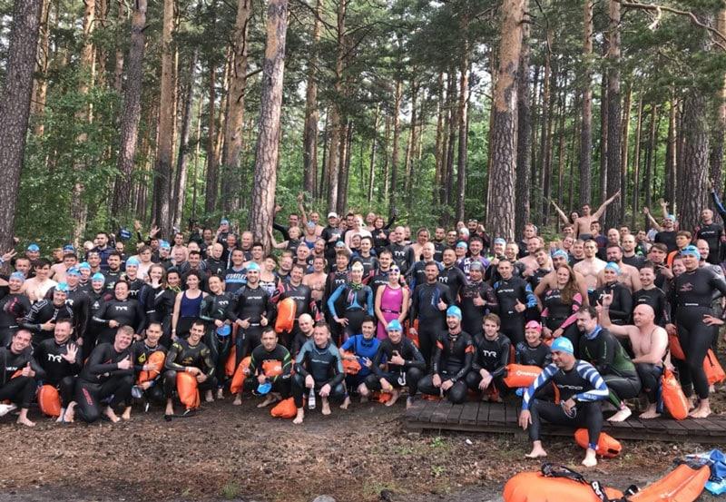 В Челябинской области прошел массовый заплыв Ural Swim по озеру Тургояк