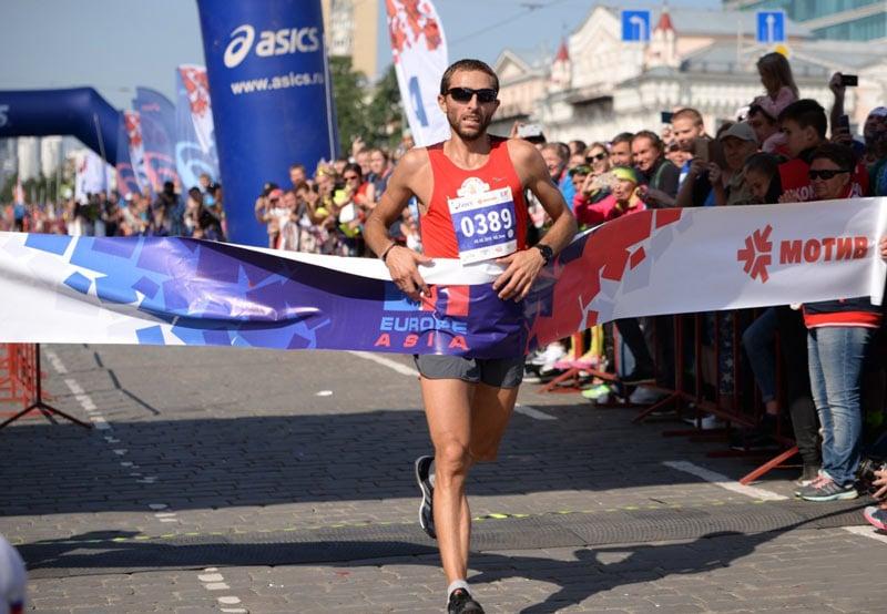 Обновлен рекорд трассы марафона «Европа - Азия» в Екатеринбурге