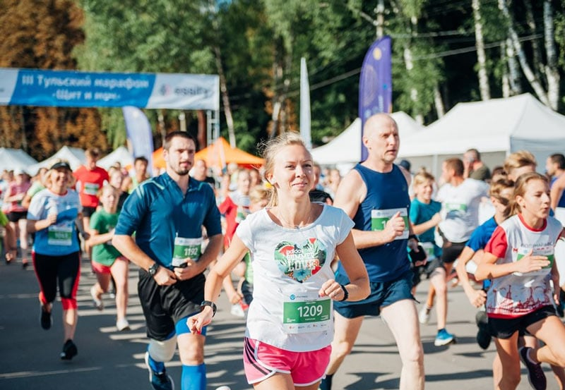 Результаты Тульского марафона «Щит и меч»