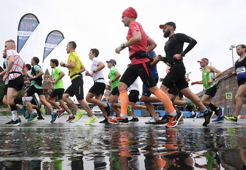 Московский марафон глазами пейсмейкера