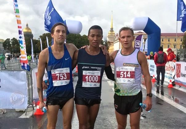 Результаты 92-го пробега «Пушкин - Санкт-Петербург»