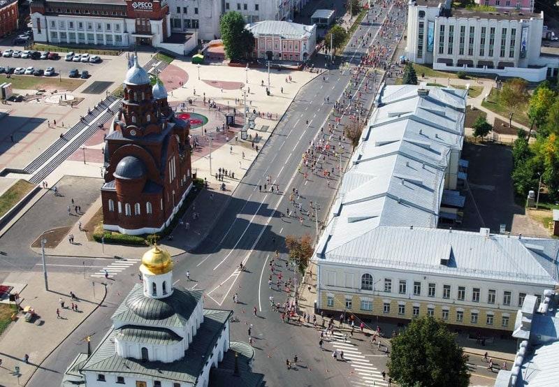 II Владимирский полумарафон: завершился 10 этап серии «Бегом по золотому кольцу»