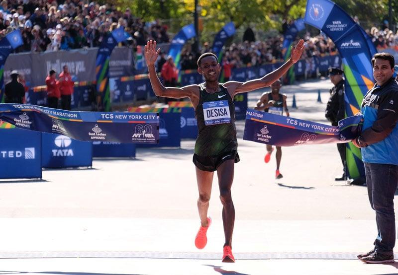 Результаты Нью-Йорского марафона 2018
