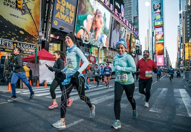 Нью-Йоркский марафон 2018 в цифрах