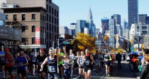 Открытие лотереи на Нью-Йоркский марафон 2019