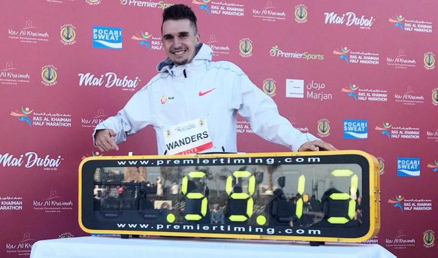 59:13 - новый рекорд Европы в полумарафоне !