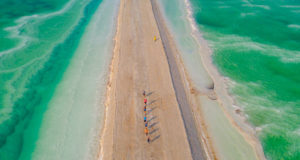 Отчёт об уникальном марафоне на Мёртвом море в Израиле Dead Sea Marathon