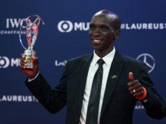 Элиуд Кипчоге удостоен спортивного «Оскара»