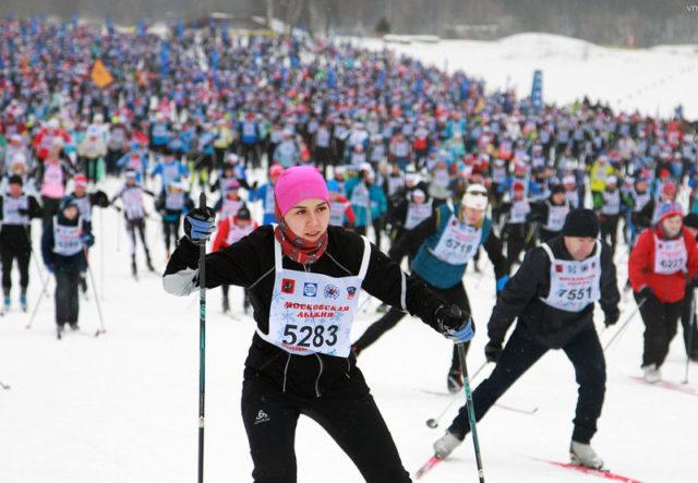 Лыжня России 2019: около полумиллиона человек на старте самой массовой лыжной гонки страны