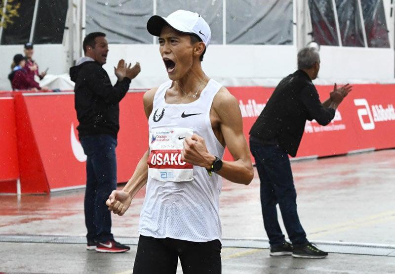 японец Сугуру Осако, которому принадлежит национальный японский рекорд 2:05:50