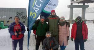 50-й юбилейный parkrun в Новосибирске прошел при экстремально низкой температуре -41°С