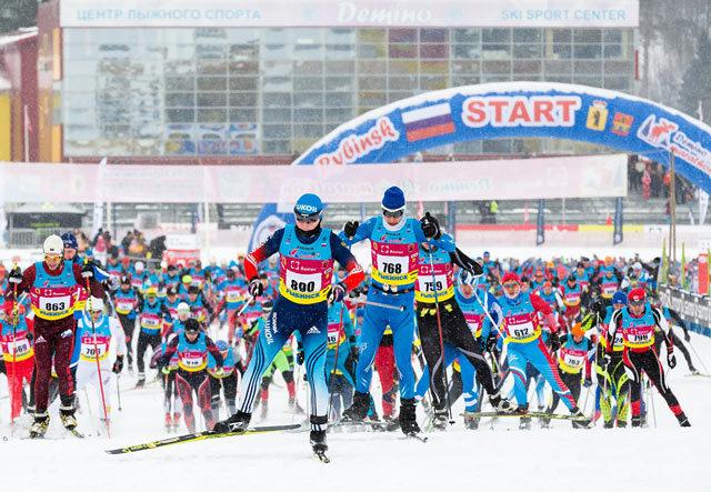Результаты Деминского лыжного марафона 2019