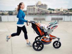 Бег с детской коляской