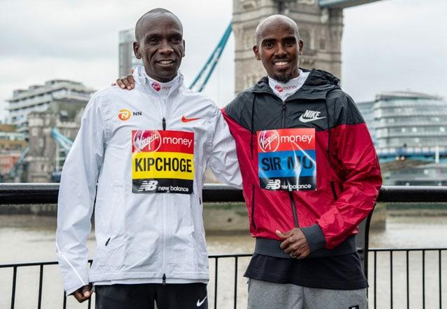 Мо Фара против Элиуда Кипчоге: весь мир в ожидании Лондонского марафона