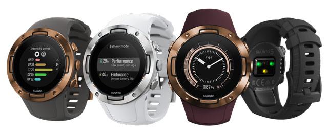 Новые компактные спортивные GPS-часы Suunto 5 — максимальная эффективность
