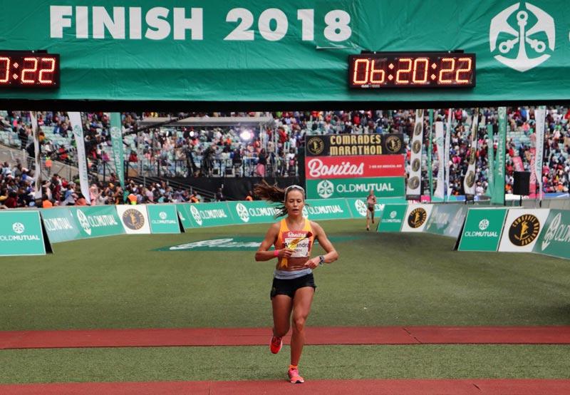 Александра Морозова. Итоги и результаты ультрамарафона Comrades 2019 в Африке