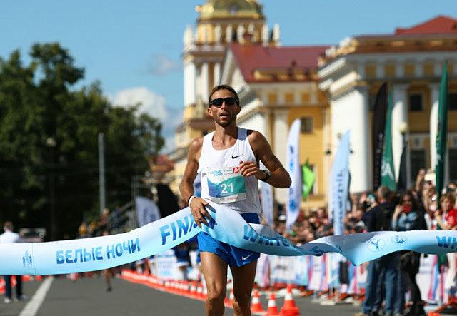 Юрий Чечун, победитель марафона