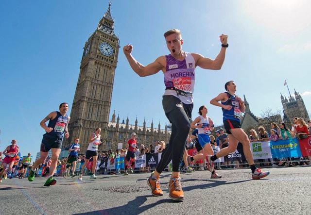 Почти полмиллиона заявок поступило на участие в Лондонском марафоне
