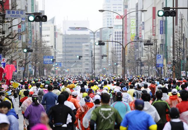 10 самых массовых марафонов мира