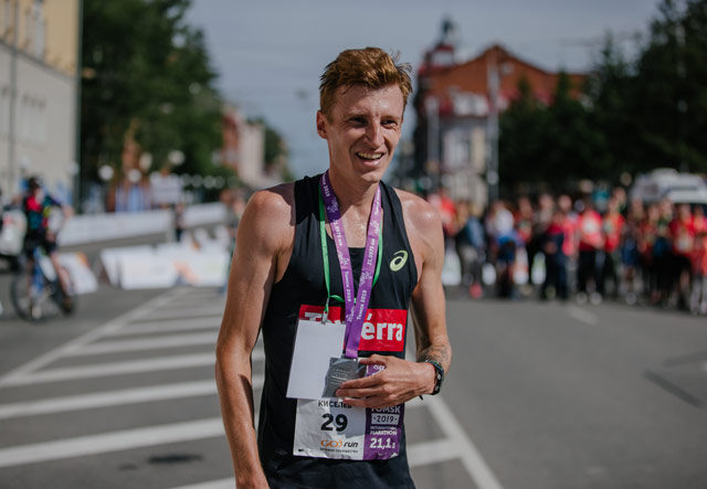 Результаты Томского международного марафона