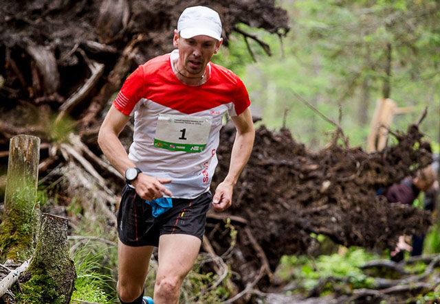 Евгений Марков, победитель горного марафона