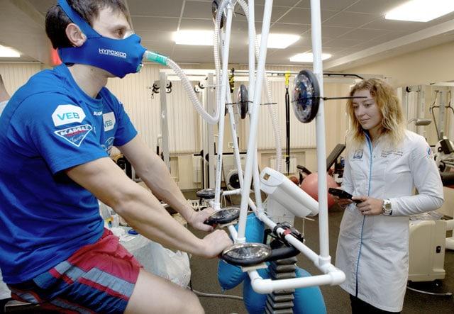 Гипоксические тренировки для бегунов и триатлетов