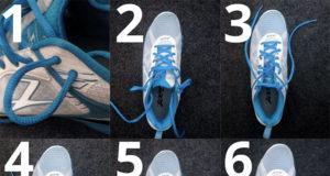 Как шнуровать кроссовки для бега, чтобы шнурки не развязывались