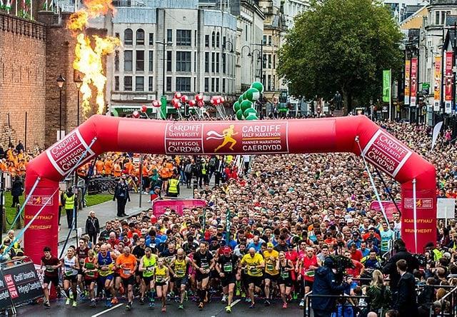 Cardiff University Cardiff Half Marathon (Кардиффский полумарафон)