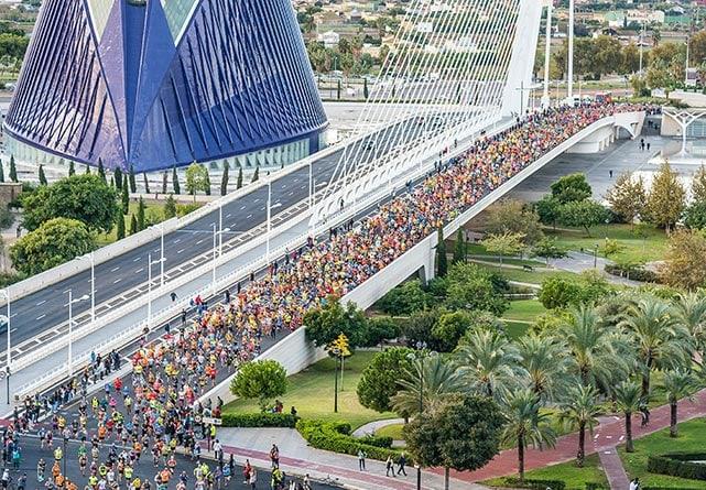 Valencia Half Marathon Trinidad Alfonso EDP (полумарафон в Валенсии)