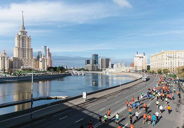 Забеги в Москве: Московский марафон