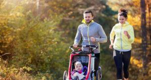 Как выбрать коляску для бега с ребёнком: чем отличается беговая коляска от обычной