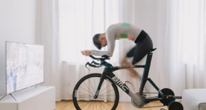 Велостанок для подготовки к триатлону