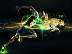 Скорость бега человека