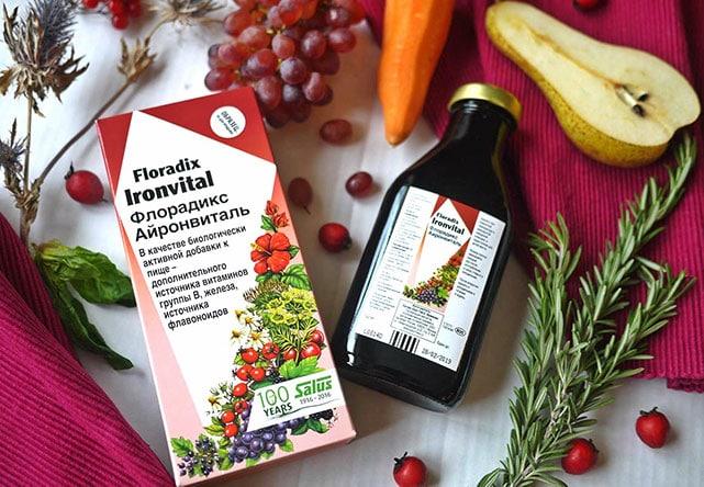 Флорадикс: натуральные витаминные тоники и БАД с соками и экстрактами растений