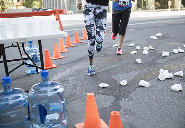 Что будет, если пить слишком много воды на марафоне