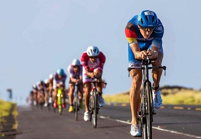 Что такое драфтинг в велоспорте и триатлоне