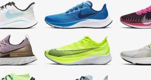 Кроссовки для бега Nike: большой обзор моделей